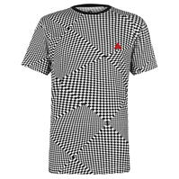 Tricou Airwalk Check Print pentru Barbati