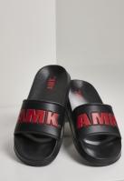 AMK Slides negru-rosu
