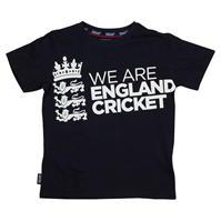 Tricou Anglia Cricket Cricket Board Large cu guler rotund