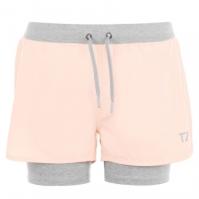 Pantaloni scurti antrenament Zone Layer pentru Femei