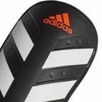 Aparatori fotbal Adidas Everlite negru And alb CW5559 teamwear adidas teamwear
