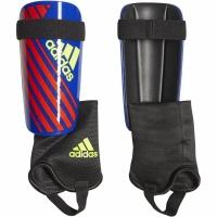 Aparatori fotbal Adidas X Club albastru And rosu galben DN8616