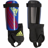 Aparatori fotbal Adidas X Youth , albastru-rosu galben DN8620