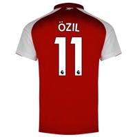 Puma Arsenal Home Ozil Shirt 2017 2018