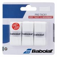Set 3 Banda racheta tenis grip Babolat Pro Tacky alb 140602