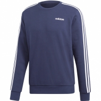 Bluza maneca lunga barbati adidas Essentials 3 Stripes bleumarin FT DU0484