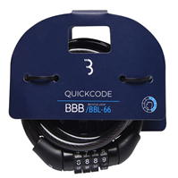 BBB QuickCode 1.2m Cycle Lock