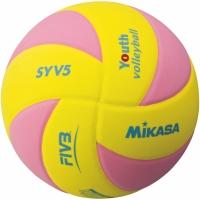 Minge volei MIKASA SYV5-YP MOLLE galben / roz
