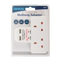 Benross Adaptor w USB 00