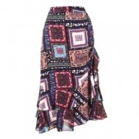 Biba Patch Midi Skirts
