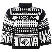 ISSA tricot Geo Issa Top