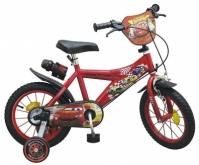 Bicicleta Copii, Baieti, Disney Cars, 14 Inch 4-6 Ani, Toimsa