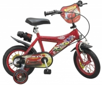 Bicicleta Copii, Baieti, Toimsa 12 Inch, Disney Cars, 3-5 Ani