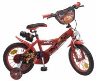 Bicicleta Copii Fete Disney Ladybug 14 Inch 4 6 Ani Toimsa