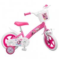 Bicicleta Copii Toimsa 12 roz Minnie Mouse