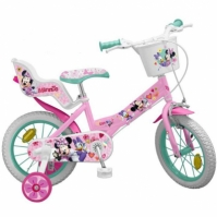 Mergi la Bicicleta Copii Toimsa 16 Inch Disney Minnie Mouse