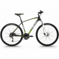 Bicicleta Cross Head I-PEAK II pentru Barbati 28 Negru-verde