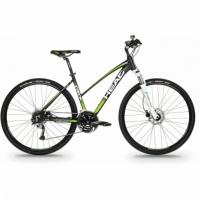 Bicicleta Cross Head I-PEAK II pentru Femei 28 Negru-verde