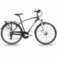 Bicicleta Trekking Head REVELO I pentru Barbati 28 Gri-albastru