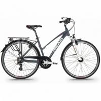 Bicicleta Trekking Head REVELO I pentru Femei 28 Gri-roz