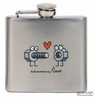 Bidon Plat Hip Flask 150ml