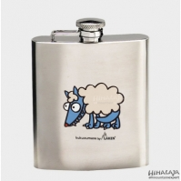 Bidon Plat  Hip Flask 230ml