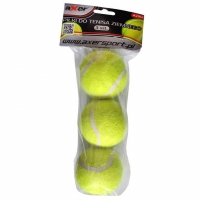 Mingi de tenis Terrestrial , 3 pieces, A2182 Axer sport