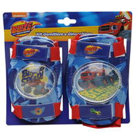 Sacou Pro Blaze and The Monster Machines Protective Pads pentru Copii