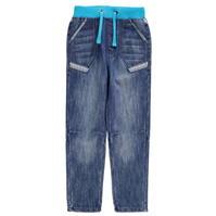 Blugi No Fear cu talie elastica pentru copii