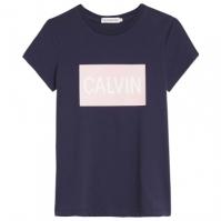 Mergi la Blugi Tricou cu imprimeu Calvin Klein Boxy