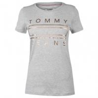 Blugi Tricou cu imprimeu Tommy Metallic