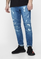 Blugi urban ALLDD Heavy Cut Sid deschis-albastru Cayler and Sons