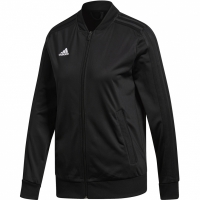 Bluza Adidas Condivo 18 poliester JKT W negru CV9079 femei teamwear pentru barbati adidas teamwear