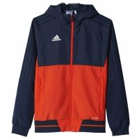 Bluza de trening adidas TIRO 17 bleumarin-portocaliu BQ2790 copii teamwear adidas teamwear
