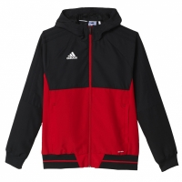 Bluza de trening adidas TIRO 17 negru-rosu BQ2782 copii