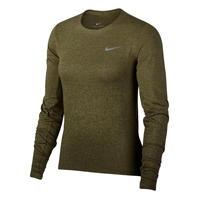 Bluza alergare maneca lunga Nike Medalist pentru Femei