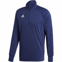 Bluza antrenament Adidas Condivo 18 barbati 2 bleumarin CV9643 teamwear adidas teamwear
