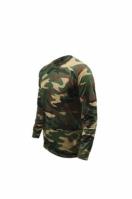 Bluza barbati LS Tshirt Woodland Verde Game