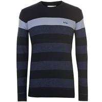 Bluza cu dungi Pulovere tricotate Lee Cooper pentru Barbati