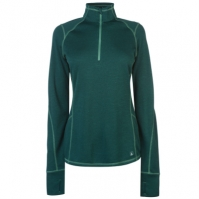 Bluza cu fermoar Eastern Mountain Sports Sports Dual termic pentru Femei