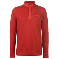 Bluza cu Fermoar Pierre Cardin Mixed Fabric Quarter pentru Barbati