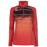 Bluza cu fermoar Spyder Fade pentru Femei