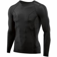 Bluza cu maneca lunga barbati Skins Dnamic- negru DA9905005 9033