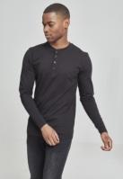 Bluza cu maneca lunga basic negru Urban Classics