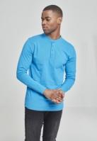 Bluza cu maneca lunga basic turcoaz Urban Classics
