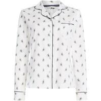 Bluza cu maneca lunga Maison de Nimes Woven in leaf paisley aop