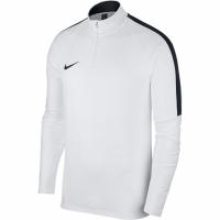 Bluza sport maneca lunga Nike Dry Academy 18 alb 893624 100 pentru barbati