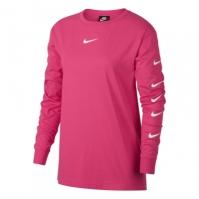 Bluza cu maneca lunga Nike Swoosh pentru Femei