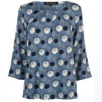 Bluza cu model imprimeu M Collection pentru Femei