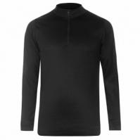 Bluza de corp cu fermoar pentru Barbati negru
